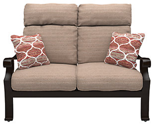 Chestnut Ridge Loveseat with Cushion, , rollover