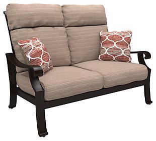 Chestnut Ridge Loveseat with Cushion, , large