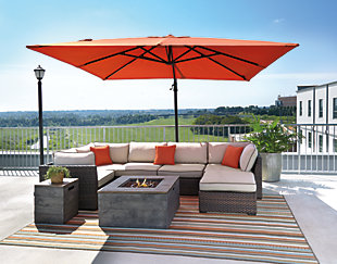 Bon ... Oakengrove Patio Umbrella, , Large ...