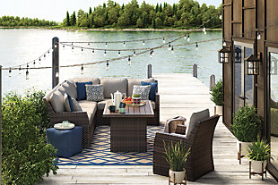 Salceda 3-piece Outdoor Sofa Set, , rollover