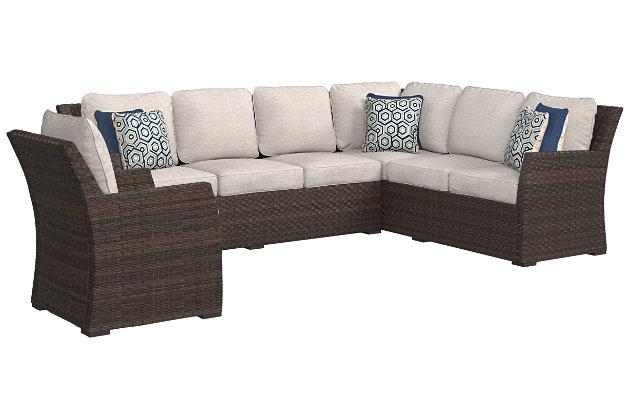 Salceda 3-piece Outdoor Sofa Set, , large