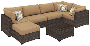 Spring Ridge 7-Piece Outdoor Seating Set, , large