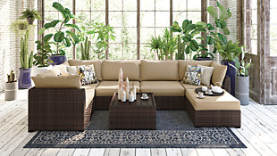 Spring Ridge 7-Piece Outdoor Seating Set, , rollover
