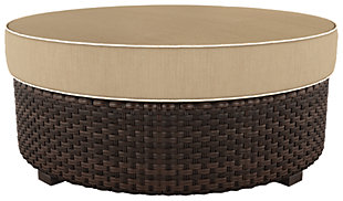 Spring Ridge Ottoman with Cushion, , large