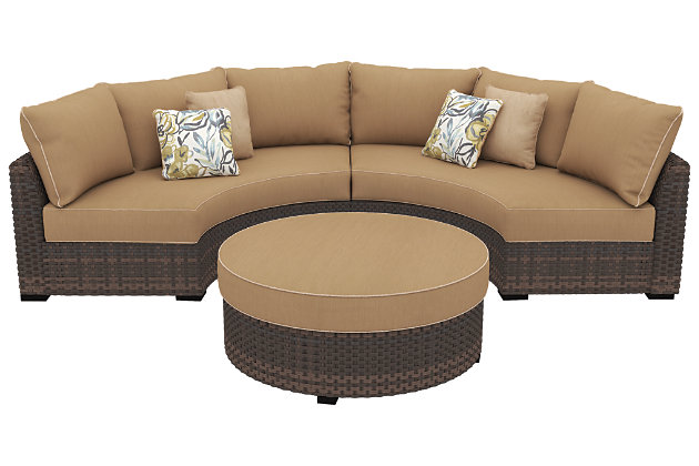 Spring Ridge 3-Piece Outdoor Seating Set, , large