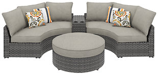 Spring Dew 4-Piece Outdoor Seating Set, , large