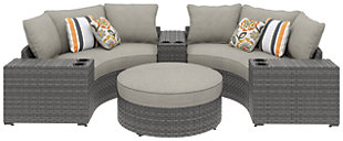 Spring Dew 6-Piece Outdoor Seating Set, , large