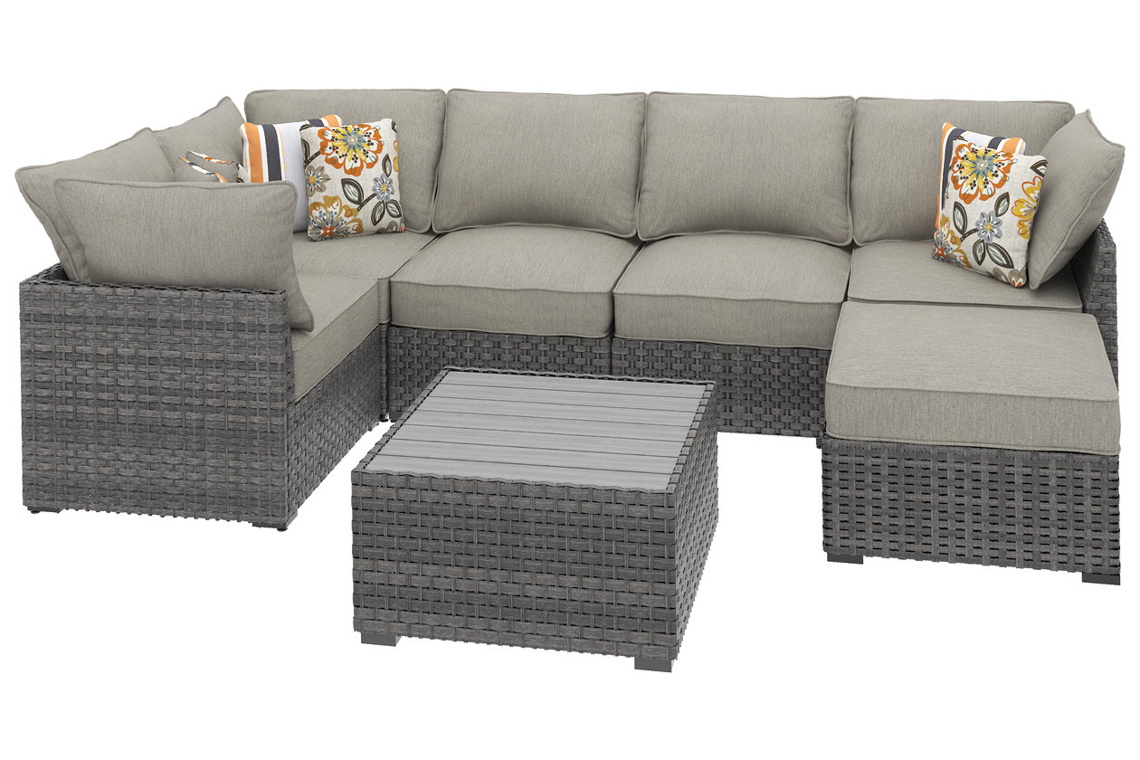 Strange Spring Dew 7 Piece Outdoor Seating Set Ashley Furniture Gamerscity Chair Design For Home Gamerscityorg