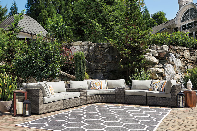 Spring Dew 5-Piece Outdoor Seating Set, , large