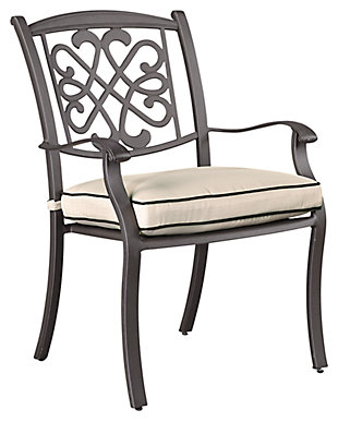 Burnella Chair with Cushion (Set of 4), , large
