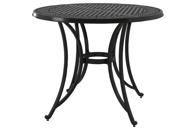 Apple Town 3-Piece Outdoor Bar Table Set, , large