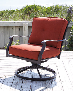 Burnella Swivel Lounge Chair (Set of 2), , rollover