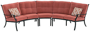 Burnella 3-Piece Outdoor Sectional, , rollover