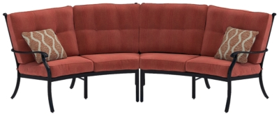 Burnella 2-Piece Outdoor Sectional, , large