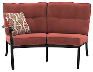 Burnella Right-Arm Facing Loveseat with Cushion, , large
