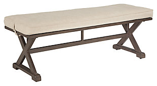 Moresdale Bench with Cushion, , large