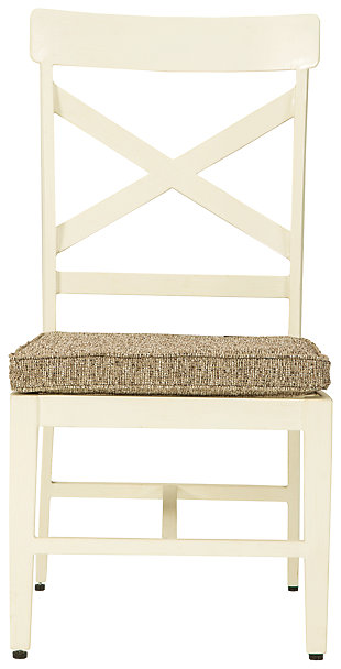 Preston Bay Armless Chair with Cushion (Set of 2), , large