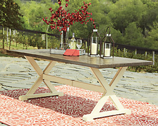 Preston Bay Dining Table with Umbrella Option, , rollover
