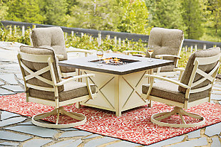 Preston Bay Fire Pit Table, , large