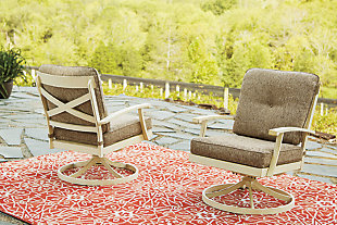 Preston Bay Swivel Lounge with Cushion (Set of 2), , large