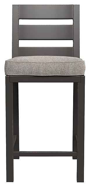 Perrymount Bar Stool with Cushion (Set of 2), , rollover