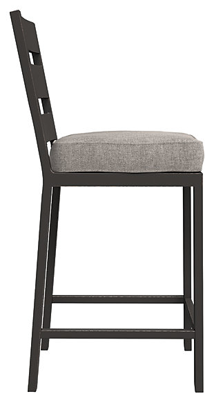 Perrymount Bar Stool with Cushion (Set of 2), , large
