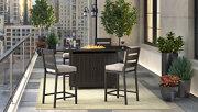 Perrymount 5-Piece Outdoor Bar Table Set, , large