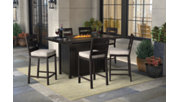 Perrymount 7-Piece Outdoor Bar Table Set, , rollover