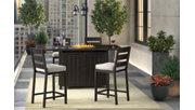 Perrymount 5-Piece Outdoor Bar Table Set, , rollover