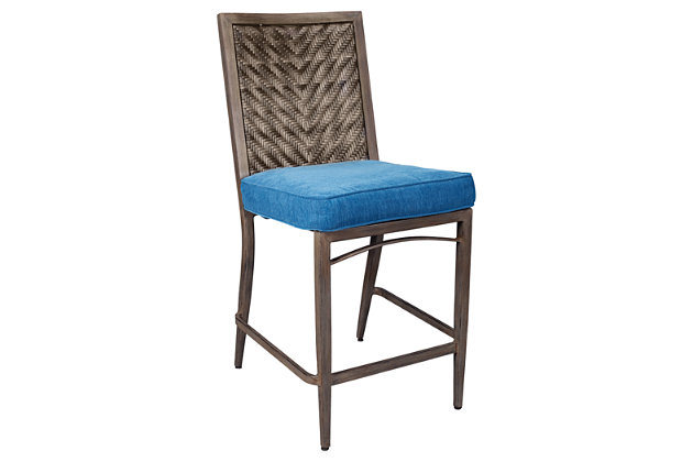 Partanna Bar Stool with Cushion (Set of 4), , large