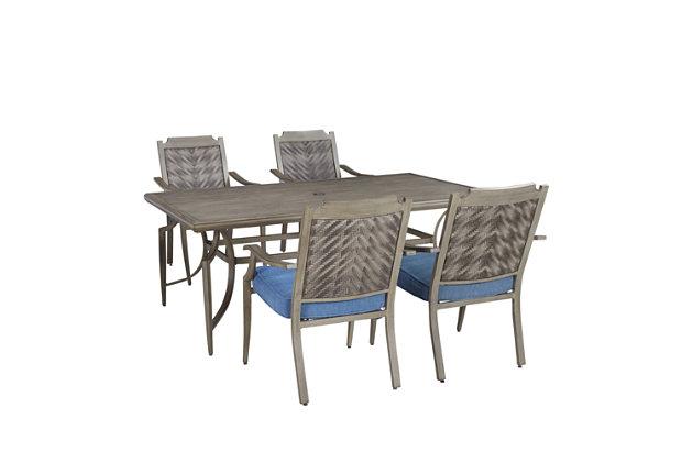 Partanna 5-Piece Dining Set, , large