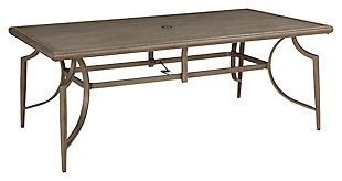 Partanna Dining Table with Umbrella Option, , large