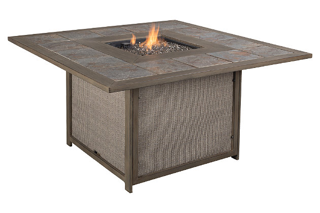 Partanna 5-Piece Outdoor Fire Pit Set, , large