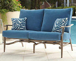 Partanna Motion Loveseat (Set of 2), , rollover