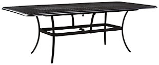 Tanglevale Dining Table with Umbrella Option, , large