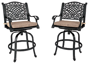 Rose View 3-Piece Outdoor Bar Table Set, , large