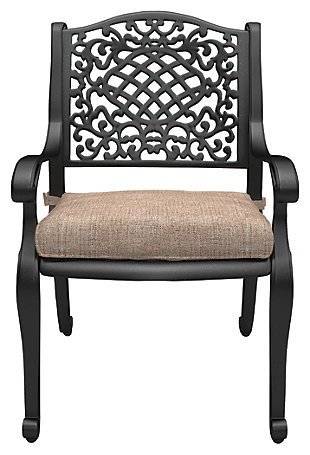 Rose View Chair with Cushion (Set of 2), , rollover