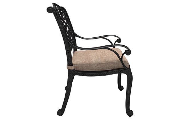 Rose View Chair with Cushion (Set of 2), , large