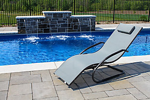 Patio Wave Lounger, , rollover