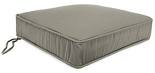 """Home Accents 22.5"""" x 22.5"""" Outdoor Deep Seat Chair Cushion, , large"""