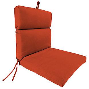 "Home Accents Outdoor 22"" x 44"" Sunbrella Chair Cushion, Grenadine, rollover"