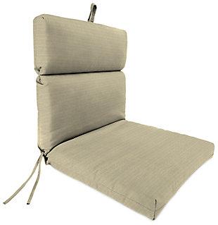 """Home Accents Outdoor 22"""" x 44"""" Sunbrella Rain Chair Cushion, , large"""