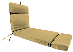 """Home Accents Outdoor Sunbrella 22"""" x 72"""" Chaise Cushion, , large"""