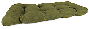 """Home Accents 44"""" x 18"""" Outdoor Sunbrella Wicker Settee Cushion, , large"""