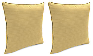 "Home Accents Outdoor Sunbrella 18"" x 18"" Toss Pillow (Set of 2), , rollover"