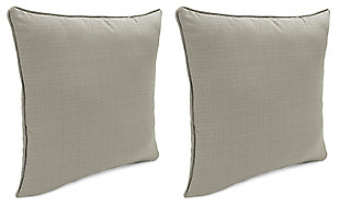 "Home Accents Outdoor Sunbrella 18"" x 18"" Toss Pillow (Set of 2), , large"