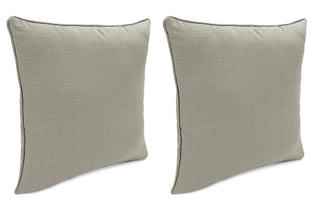 "Home Accents Outdoor Sunbrella 18"" x 18"" Toss Pillow (Set of 2), , large"