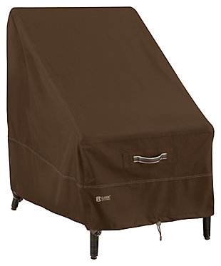 Outdoor High Back Patio Chair Furniture Cover, , large