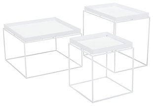 Patio Nesting Table (Set of 3), , large