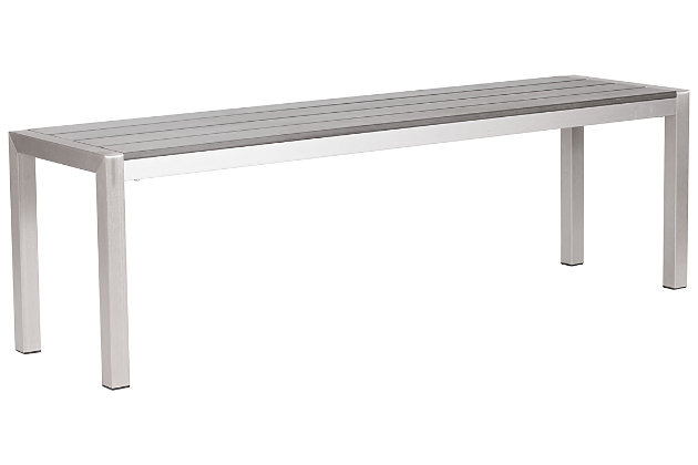 Patio Double Bench, , large